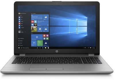 "NOTEBOOK HP 250 G6 (3QM24EA) : i3-7020U, 4GB, HD 500GB, DVDRW, Schermo 15.6"", Vga Intel HD 620, Win 10 Pro"