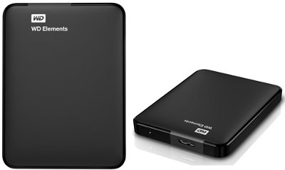 "HD esterno WD Elements 1TB 2.5"" (WDBUZG0010BBK) - USB 3.0"