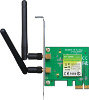 LAN PCI-E - Wireless - 300Mbps 802.11bgn - 2x antenne rimovibili